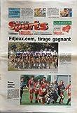 JOURNAL DES SPORTS LA NOUVELLE REPUBLIQUE (LE) [No 264] du 30/09/2002 - RUGBY / ROMO ENCORE BATTU -CYCLISME / PARIS- CORREZE VAINQUEUR A ROMORANTIN / BADEN COOKE - NICOLAS VOGONDY -AITOR GONZALEZ REMPORTE LE TOUR D'ESPAGNE / ROBERTO HERAS -AUXERRE ET NANTES EN FOOT