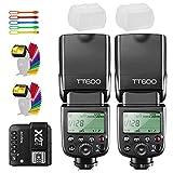 Godox 2X TT600 High Speed Sync 2.4G GN60 Camera Flash Speedlite Speedlight with Godox...