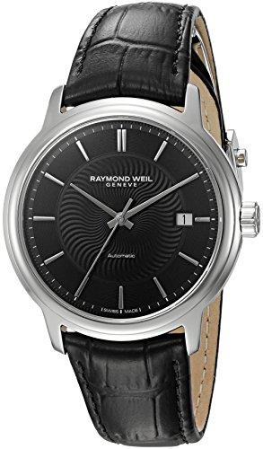 Raymond Weil Reloj Analógico para Hombre de Automático con Correa en Cuero 2237-STC-20001