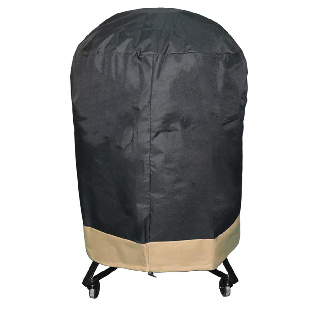 """ProHome Direct BBQ Grill Cover Fits for Kamado Joe Classic, Large Big Green Egg and Other Ceramic Grills 30"""" Diameter…"""