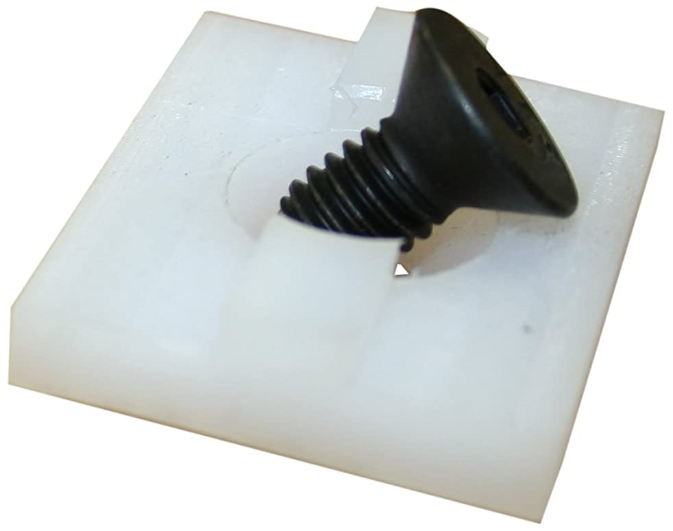 Faztek 15 Series Bi-Fold Door Glide, UHMW, 1-1/2
