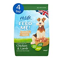 A premium ready to serve meal for your dog Unique semi-moist chunks with slices of meaty sausage Made with real meat Proudly made in the UK High quality real meat protein aids growth and muscle development