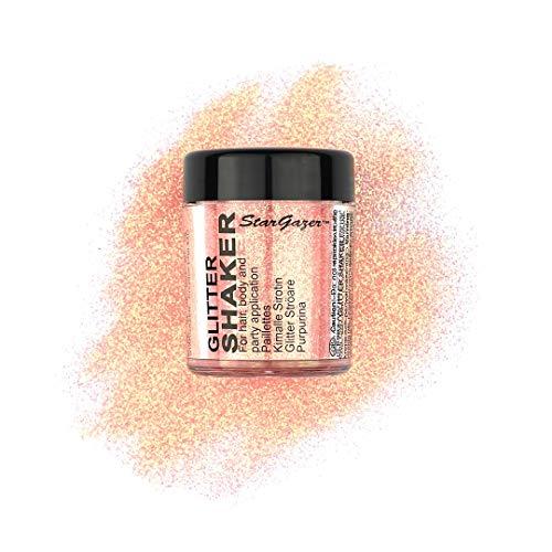 Stargazer, Maquillaje de ojos con brillos (Tono naranja) - 1 unidad