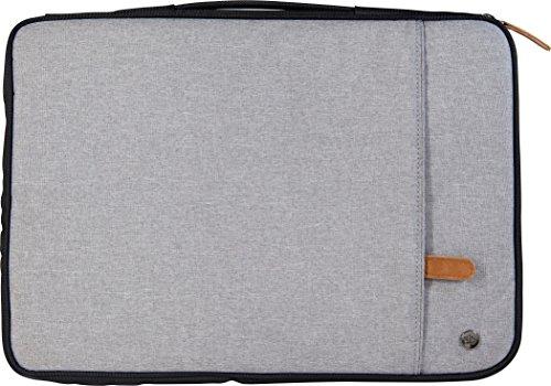 PKG International LS01 Portable Sleeve for 13'/14' Laptop (Light Grey) MFR # PKG LS01-13-DRI-LGRY