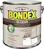 Bondex Öl-Lasur 2,50l - 391323 weiss