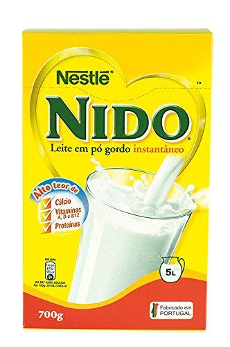 Leite Nido NESTLÉ, Leite em pó gordo instantâneo -- Instant Milchpulver 700g.