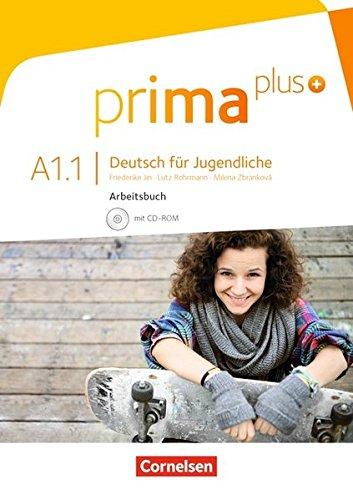 Prima plus - Allgemeine Ausgabe: A1: Band 1 - Arbeitsbuch mit CD-ROM: Mit interaktiven Übungen auf scook.de