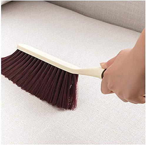 NJIUHB Plastic Bezem zacht en dicht borstelharen vegen van Bed Sofa Deken Seating Haard muur bevestigde (kleur, Multi-Colored, Grootte, 37x8cm), Multi-gekleurde, 37x8cm