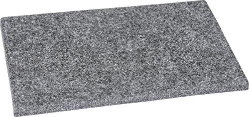 HEYDA 204881599 Tapis en Feutre Gris 125 x 180 mm
