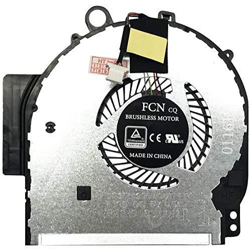 Lüfter Kühler Fan Cooler kompatibel für HP Pavilion x360 x360 14-ba030ng, x360 14-ba011ng, Pavilion x360 x360 14-ba021ng, x360 14-ba012ng, Pavilion x360 x360 14-ba020ng, x360 14-ba026ng