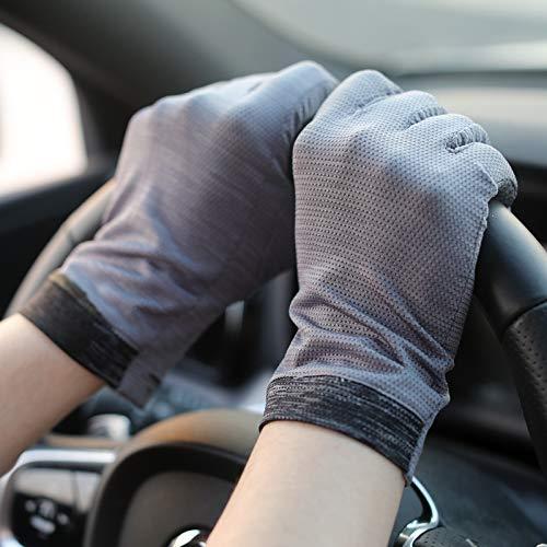 BHJH7 Hombres transpirables Mittens Hombres conduciendo en primavera, otoño y guantes de...