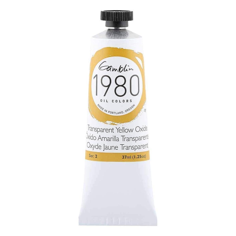 Gamblin 1980 Oil Trans Yellow Oxide 37Ml