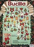 Bucilla 'Lotsa Christmas' Set Of 50 Felt Applique Ornaments Kit 82933