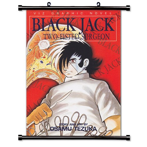 Black Jack Anime Fabric Wall Scroll Poster (16 x 23) Inches