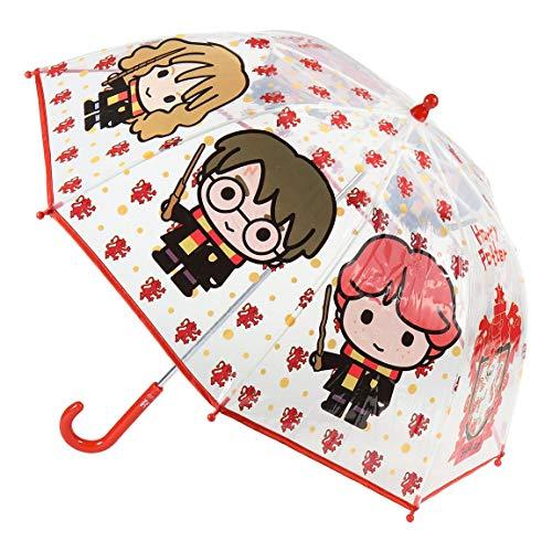 CERDÁ LIFE'S LITTLE MOMENTS- Paraguas Transparente de Harry Potter - Licencia Oficial Warner Bros, Color (2400000551)