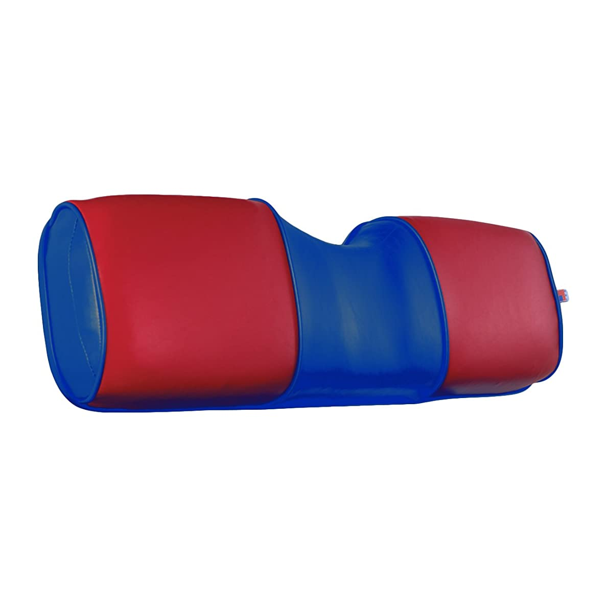 EZGO 604916G0302 Seat Back Cover for TXT/ST, Red on Blue