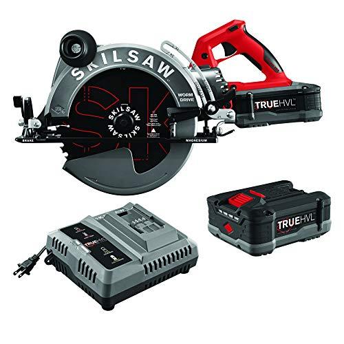 SKIL 10-1/4'' TRUEHVL Cordless Worm Drive Skilsaw Circular Saw Kit with 2 Batteries - SPTH70M-21
