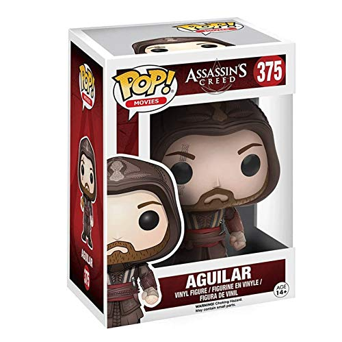 Gogowin Pop Games : Assassin'S Creed - Aguilar Chief 3.9inch Vinyl Gift for Boys Games Fans