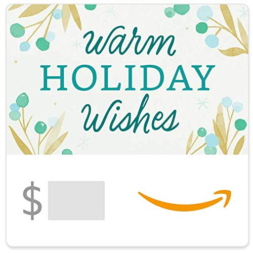 Amazon eGift Card - Warm Holiday Wishes