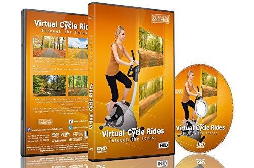 Randonnée virtuelle à vélo au sein de la Forêt pour vélo d