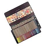 Lápices de colores, lápices de madera de colores, Set Profesional de 100 colores en una caja de lata, de dibujo, el dibujo, el sombreado para colorear, lápices de colores vibrantes ,(3100)48 colour