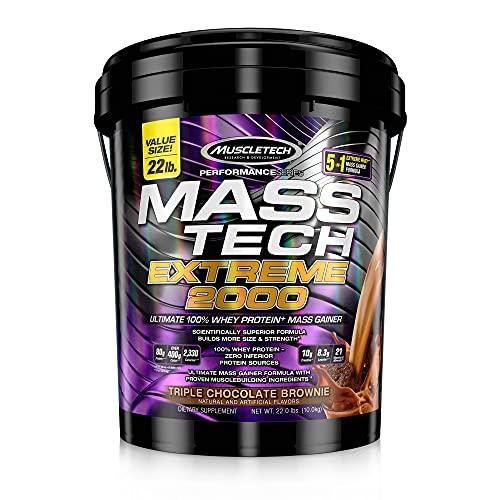 Muscletech Performance Series Mass Tech Extreme 2000 Triple Chocolate Brownie - 9979 gr