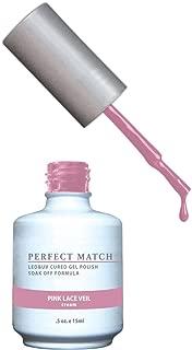 LECHAT Perfect Match Nail Polish, Pink Lace Veil, 0.500 Ounce