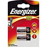 Piles Energizer Lithium Photo 123, pack de 2