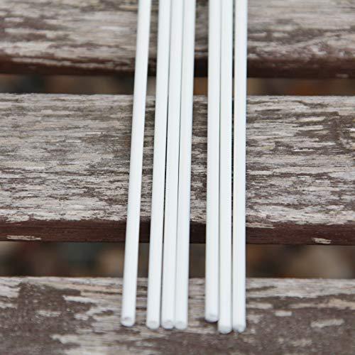 Fibreglass Roman Blind Rods 4mm - 4 x 3m lengths