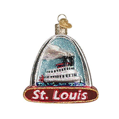 Old World Christmas Cities, Places and Landmarks Glass Blown Ornaments for Christmas Tree St Louis