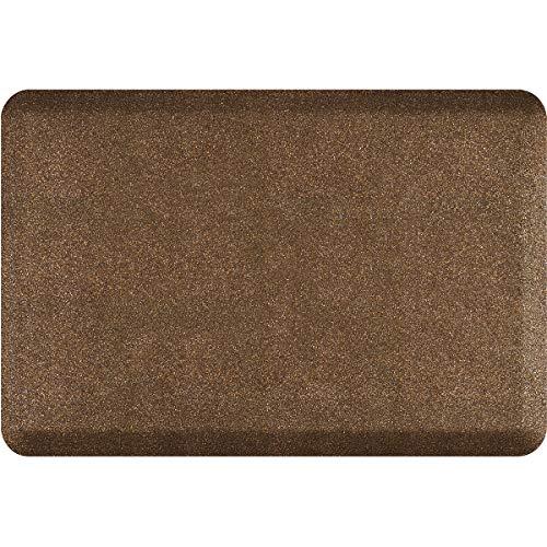 WellnessMats Granite 3/4' Anti-Fatigue Mat - Comfort & Support - Non-Slip, Non-Toxic - 24'x36'x 3/4' Granite Copper