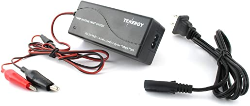 Tenergy TLP-4000 Universal 1A Smart Charger for Li-Ion/Polymer Battery Pack (3.7V-14.8V 1-4 Cell)
