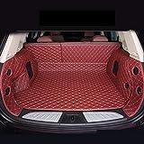 Esteras tronco de coches de lujo Fit for Mercedes Benz Clase A B C E S R ML GL GLA GLC GLK GLS C AMG CL CLA GLE C117 esteras impermeables, buque de carga de cuero alfombrilla universal para maletero