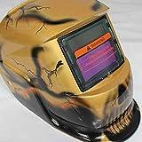 ZHQHYQHHX Caschi da Saldatore Scurimento Auto Solare del Mig Tig MMA Caschi Maschera/Saldatore cap/Saldatore Occhiali di Protezione/Saldatura Strumento for Saldatore