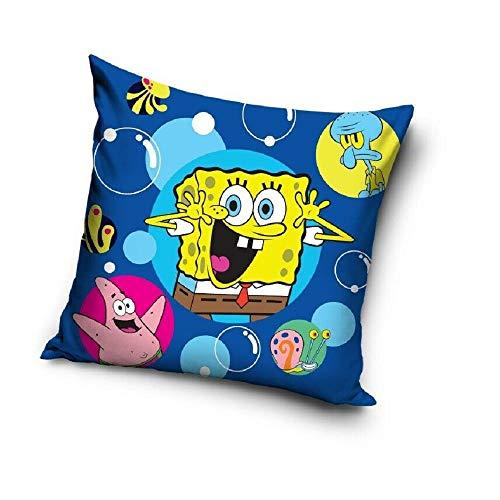 Spongebob Schwammkopf - Kissen Spongebob - Gary - Deko Cushion Patrick - Thaddäus - 40 x 40 cm