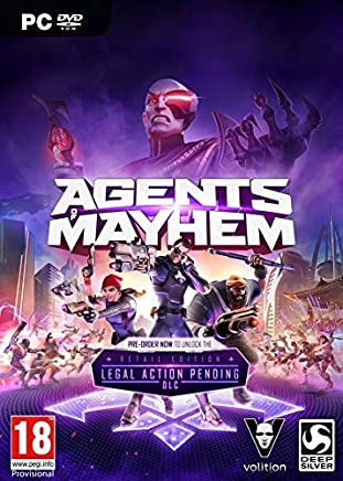 PC Agents of Mayhem – Day One Edition (+L.A.P. DLC) (UE)