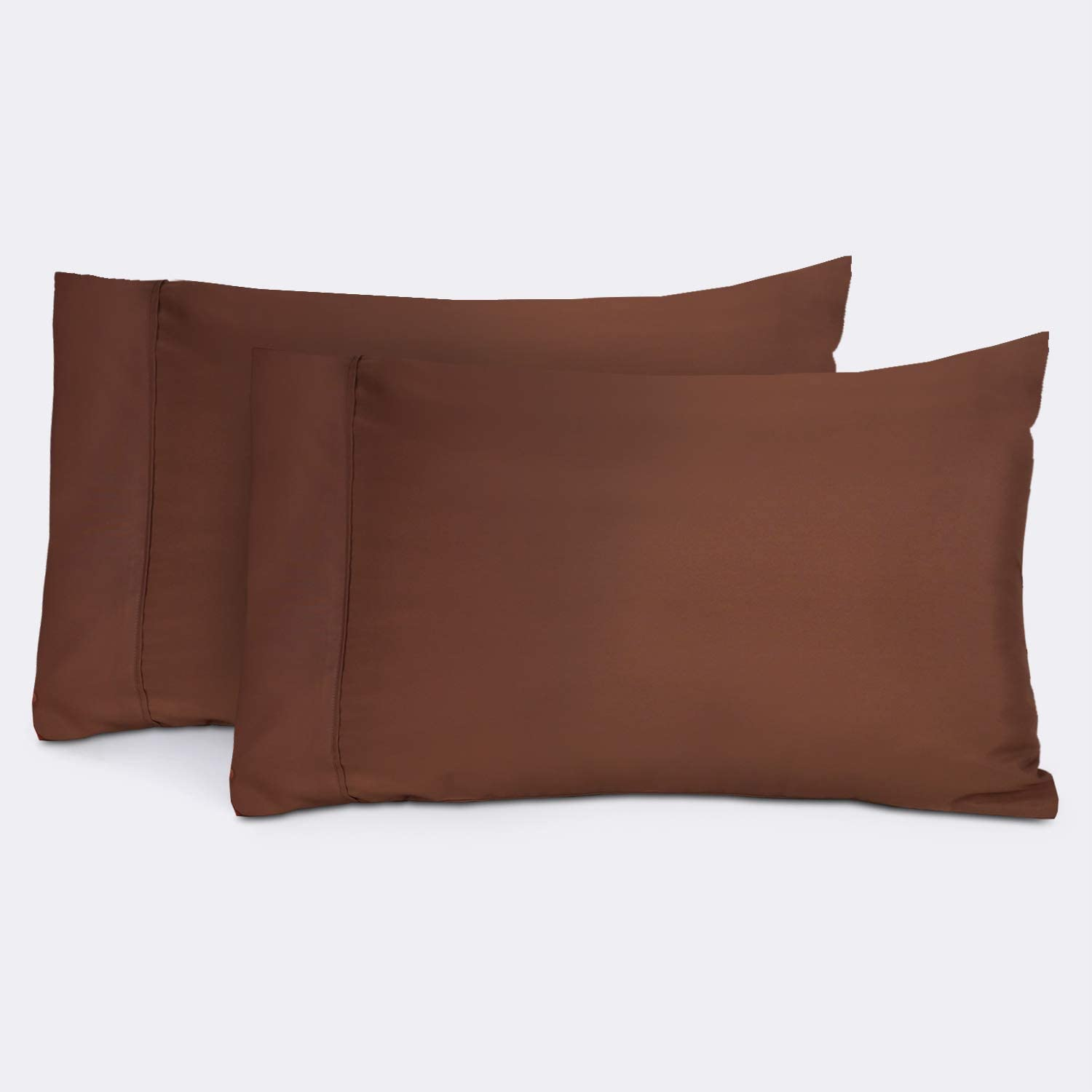 Everspread Pillowcases Set of 2 Que Cocoa – Brown Standard Our Dallas Mall shop most popular