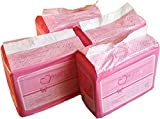 48 Diapers - DC Amor - All Pink Theme! Plastic-Backed Adult Baby (Small)