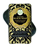 Nesti Dante Luxury Black Soap mit Aktivkohle, 250 g