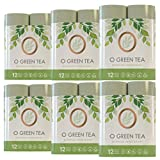 Monkeylips O GREEN TEA Toilet Paper, Unbleached, 12 Rolls, 3 Ply (6 Pack of 12 Rolls)…