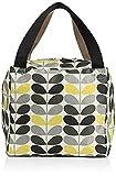Orla Kiely Tonal Stem Print Large Box Bag, Storm
