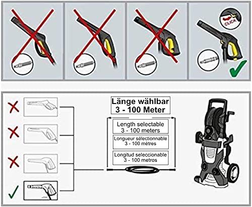 Hochdruckschlauch Quick Connect mit 3 Metern - 3