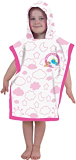 The Smurfs Cotton Hooded Towel - Pink