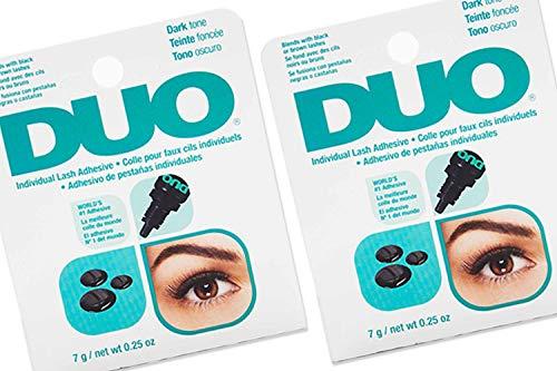 DUO Individual Lash Adhesive Dark, 2 pack