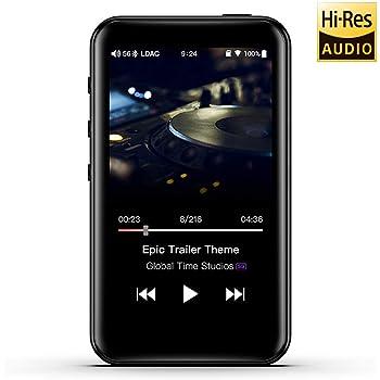 FiiO M6 High Resolution Lossless MP3 Music Player with HiFi Bluetooth aptX HD/LDAC, USB Audio/DAC,DSD/Tidal/Spotify Support and WiFi/Air Play Full Touch Screen