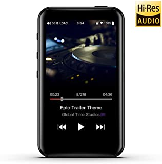 FiiO M6 High Resolution Lossless Music MP3 Player with aptX, aptX HD, LDAC HiFi Bluetooth, USB Audio/DAC,DSD/Tidal/Spotify Support and WiFi/Air Play Full Touch Screen