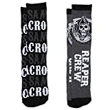 Sons of Anarchy Samcro & Reaper Crew 2-pack Adult Crew Socks