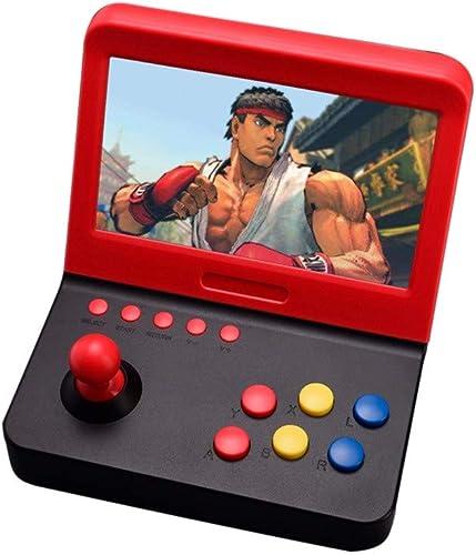 HSKB Handheld Spielkonsole, Konsole Spielkonsole Classic Portable Retro Game Player Game 7,0 Zoll Built in 3000 Classic Retro Video Spiele Family TV Games für Junge und mädchen Toys