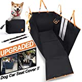 Dog Car Seat Cover, Multifunctional using, 900D Oxford Waterproof Dog Back Seat Covers