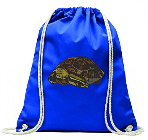 Druckerlebnis24 Turnbeutel Schildkröte Wasser Teich Haustier kröte Tiere mit Kordel - 100{c5b5f65cf1e950099e380673455c82f669ae1cdb2bd5e5a248e74c3b4a94ae29} Baumwolle- Gymbag- Rucksack- Sportbeutel